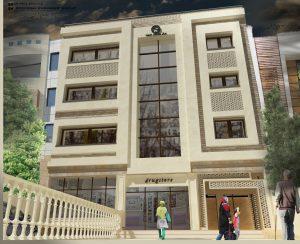 نمای ساختمان پلاسما