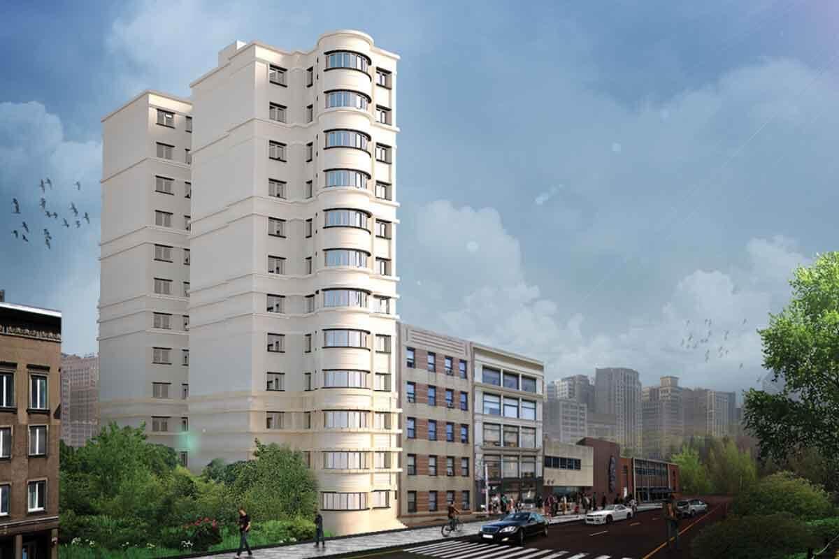 پروژه برج باغ مسکونی
