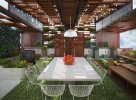 عکس شماره 6 بام سبز پروژه آقای اسلامی تهران اندرزگو