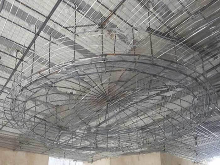 سقف کاذب از نوع رابیتس