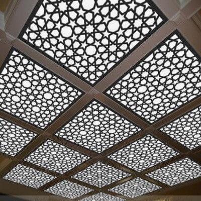 سقف کاذب از نوع CNC