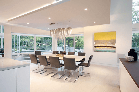 انواع نور پردازی در معماری داخلی