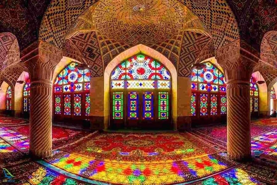 مسجد وکیل شیراز: شکوه معماری ایرانی