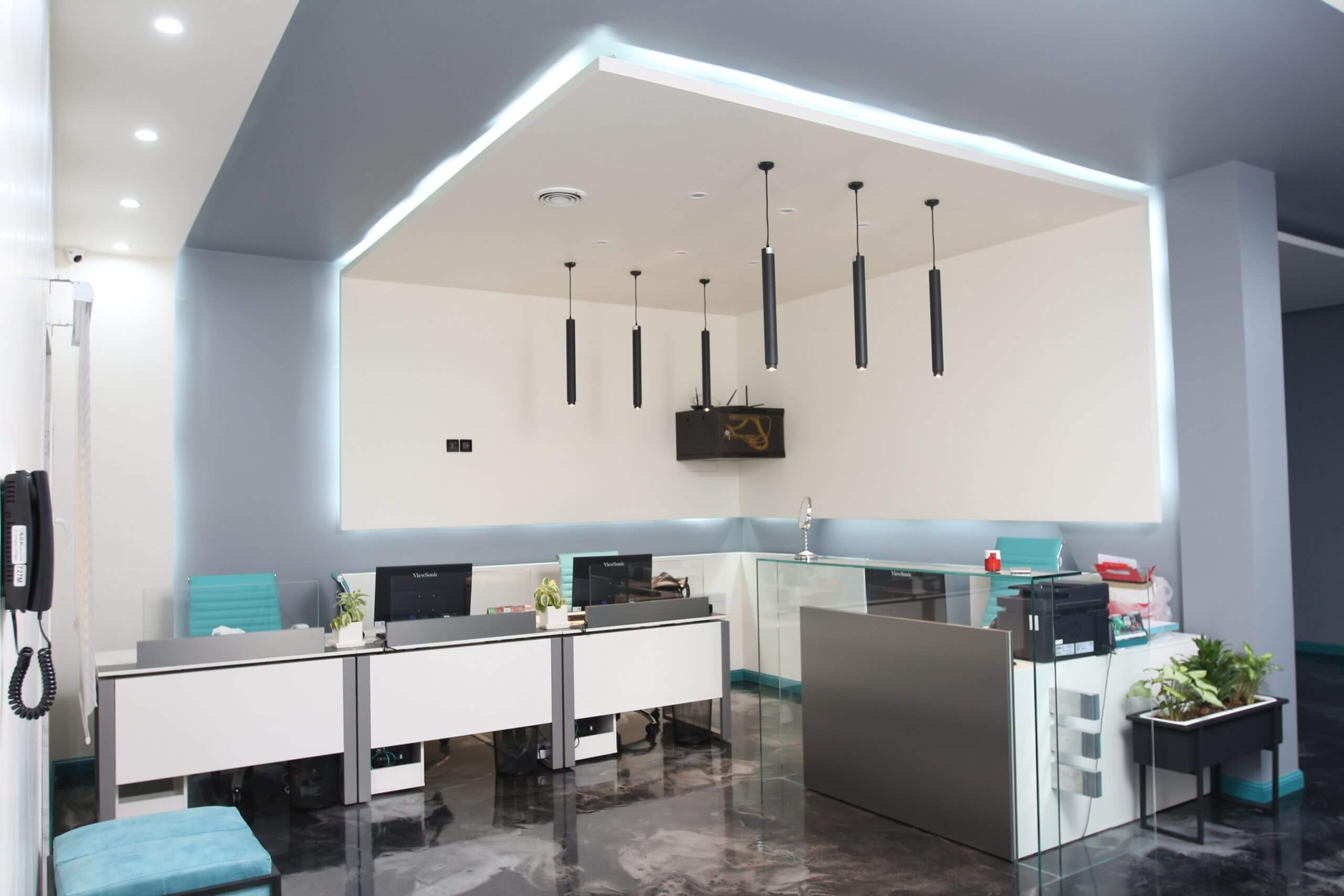 طراحی داخلی دفتر معماری لواسان