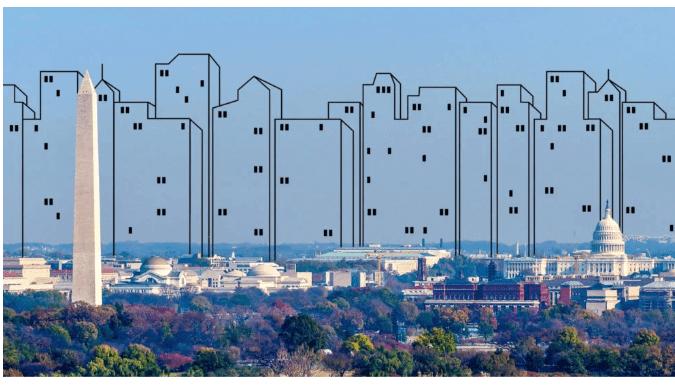 شکل 1. ارتفاع ساختمان