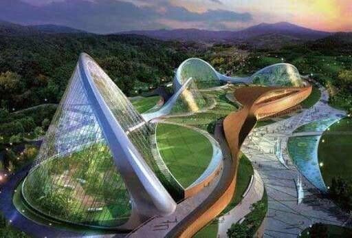 معماری بیونیک از طبیعت الهام می گیرد