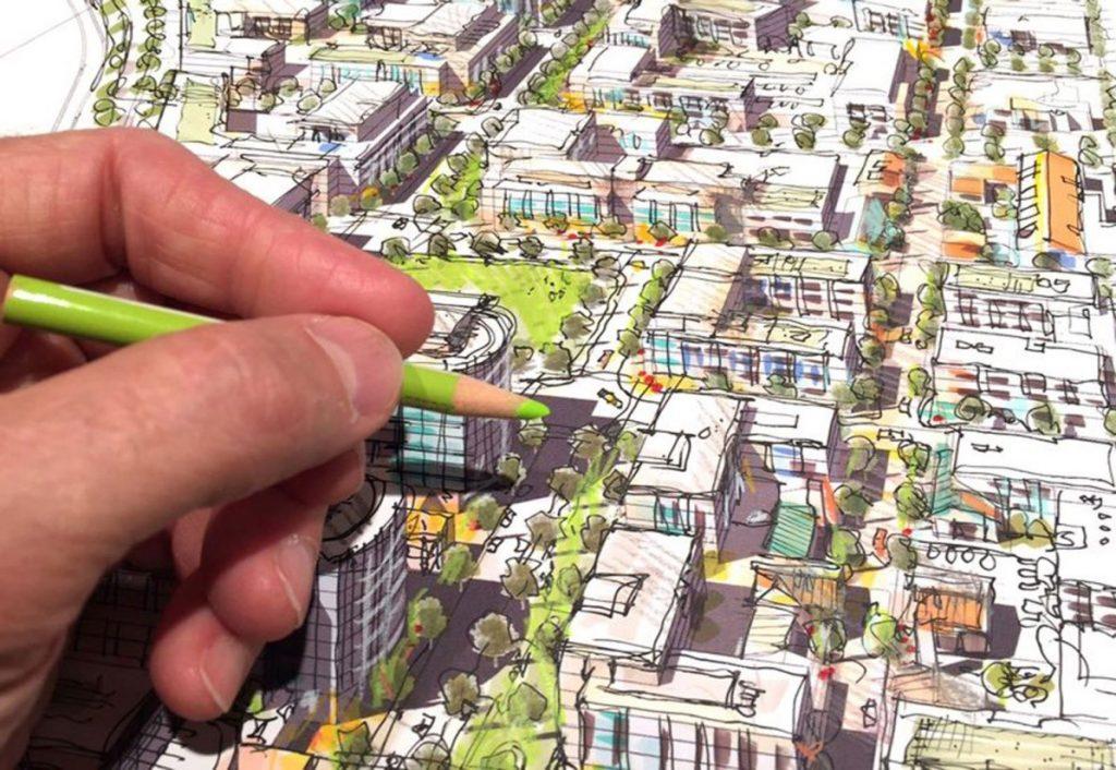 شکل 2. طراحی شهری