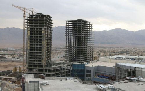 برج های سیتی سنتر اصفهان