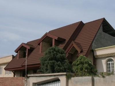 سقف به صورت شیبدار
