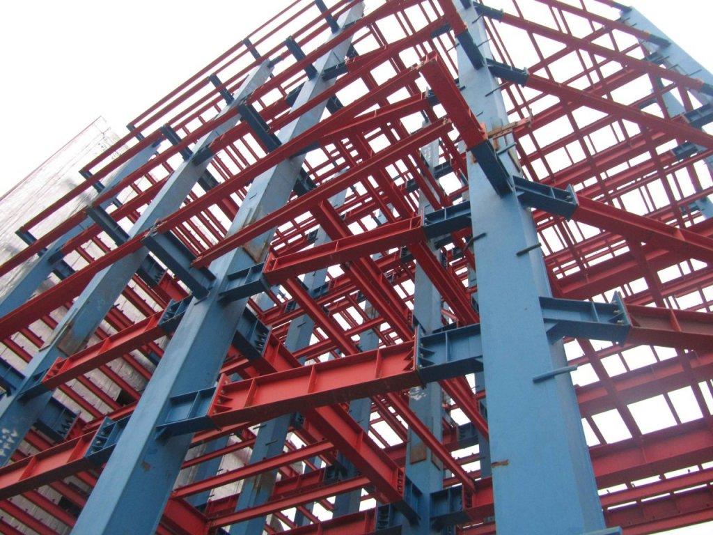 شکل ۱: انواع سازه فلزی
