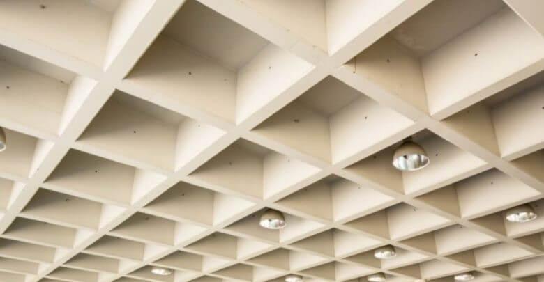 نمونه ای از سقف وافل