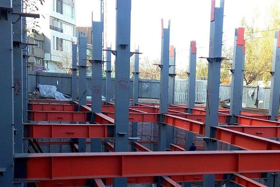شکل ۳: محاسبه هزینه تمام شده یک سازه فلزی