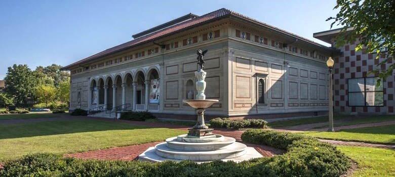 موزه یادبود آلن یک نمونه طراحی معماری پست مدرن