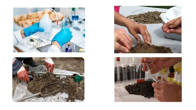 انواع آزمایش های خاک