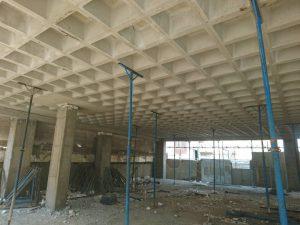 سقف وافل ساخت